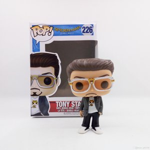 Kutu Oyuncak Hediye # 226 oyuncak Sevimli lowprice Çok güzel Funko POP Örümcek Adam Eve Dönüş Tony Stark Vinil Eylem Şekil