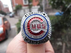 2016 Cubs Championnat du Monde de Baseball Anneau Baez Rizzo Bryant Souvenir de Zobrist Hommes Fan Cadeau 2019 gros Drop Shipping