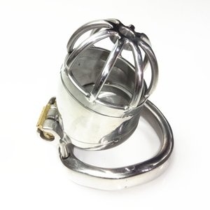 Stainless Steel Cock Cage Male Chastity Device with ARC Snap Ring Sex Toys for Men XCXA277-XLF