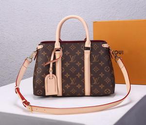 LOU1S VU1TTON M44815 Soufflot leather women twist handbag messenger shoulder bag pockets Totes Shopping bags Backpack Key Wallets