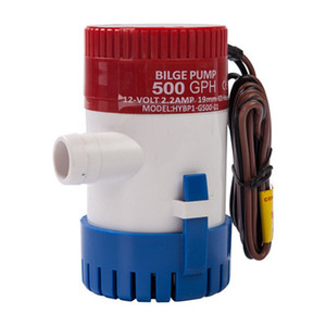 500GPH 12V Non-automatic Marine Electric Submersible Bilge Pump yacht drainage Fishing Boat Water Bilge Pump marine