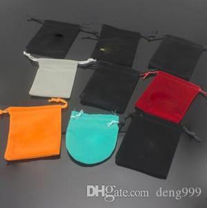 Оптовые различные сумки ювелирных изделий, бархатные сумки, мешочки, ювелирные изделия сумка серьга ожерелье кольцо высокого качества мешки для сбора пыли пакетов