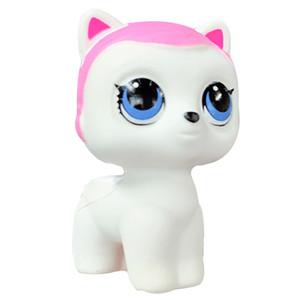 Kawaii Squishy Cat Cartoon Kitty Rising lent Poupée Jouets Simulation douce squeeze Stress Relief Fun Toy cadeau pour les enfants 8 * 10CM