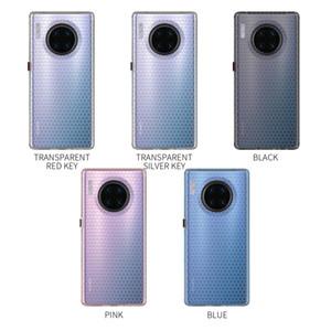 Чехол для телефона Huawei Mate 30 Pro тонкий и мягкий TPU Honeycomb Space All-inclusive Bumper Protection Case Cover