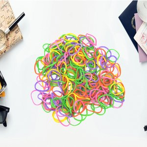 100PCs High Elasticity Pet Hair Rubber Band Dog Cat Hair Accessories Colorful DIY Hair Bows Grooming Hairpin Accessories