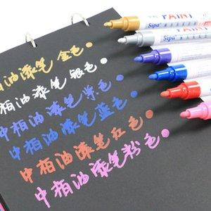 20190622 marcador de 6 cores DIY graffiti caneta oleosa