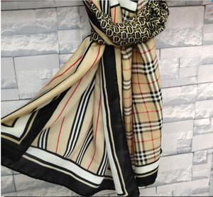 Кашемир Sexy хлопок Женщины Классический дизайн решетки сращивания женской моды бренд шерсть сгущает теплые мягкие зимы осени дамы шарф платок