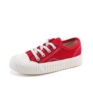 Korean girls' board shoes 2020 new soft bottom children's canvas shoes boys non-slip casual girls home