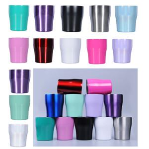 10oz Edelstahl Cup Tumbler Double Vacuum Mug Isolierung Kühler Milch Bierkrug Rotwein Kaffeetasse mit Deckel Weihnachtsgeschenke HH9-2272