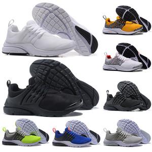 Safari Pack PRESTO 5 BR QS Breathe Triple blanco Negro Amarillo Rojo Hombres Mujeres Zapatos Corrientes Hombre Racer Blue diseñador zapatillas deportivas 36-45