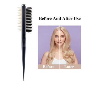 Instant Curly Hair Comb Hairstyle Fluffy Shark Back Combs Professional Styling Smooth Volumia Comb Hair Styling