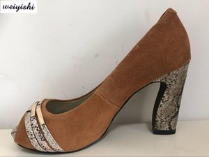 2020 женщин новые ботинки моды. леди обувь, weiyishi 034