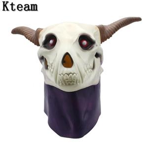 Anime Ancient Magus 'Braut Elias Ainsworth Magie Braut Halloween Cosplay Dämon Geist Totenkopf Vollkopf Latex Maske