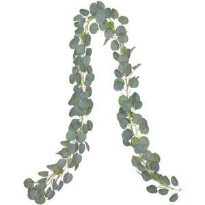 2M Artificial Grüne Eukalyptus Garland Blätter Rebe Gefälschte Reben Rattan Künstliche Pflanzen EfeuWreath Wand-Dekor-Hochzeits-Dekoration