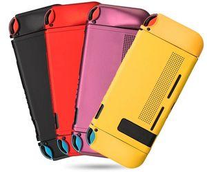 El nuevo caso de caucho de silicona de pintura suave de la cubierta para el interruptor de Split Mini Nintendo PSP máquina de juegos de mano contra la caída de Shell