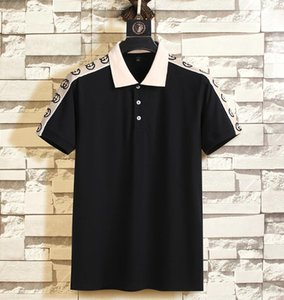 New casual brand fashion luxury designer women mens T-shirt summer polo T-shirt British French short-sleeved mens tees