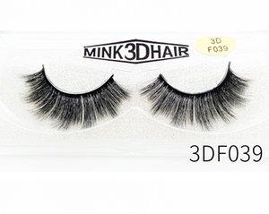 3D Mink Eyelash Eye Makeup Water Gel False Eyelashes Soft Natural Thick False Eyelashes 3D Eyelash Extension Beauty Tools SZ55