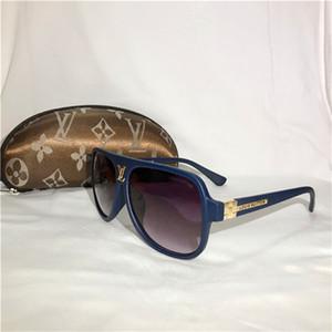 Moda LV Occhiali da Sole di lusso per gli uomini e le donne degli occhiali da sole di guida spiaggia Holiday vetri di sole di Louis Vuitton 40