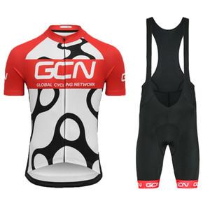 Tour de Francia 2020 mens transpirable verano ciclismo conjunto moto secado rápido MTB ropa de ciclo del babero el envío del kit Ropa Ciclismo
