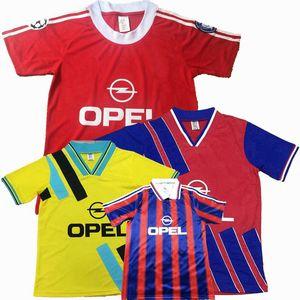 Ретро классический 1991 1993 1995 1996 1997 2000 2001 Бавария футбол майки SCHOLL MATTHAUS EFFENBERG KLINSMANN Мюнхен ретро футбол рубашка