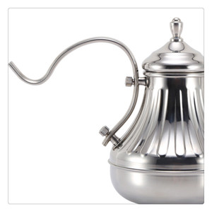 Coffee Tea Pot Stainless Steel Hand Drip Coffee Kettle Excellent For Manual Pour Over Coffee Brewing Tea