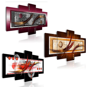 5 Panels Hot Canvas Print Artistic EleganceLandscape Poster Modern Home Wall Decor Painting Canvas Printing Art HD Print Painting