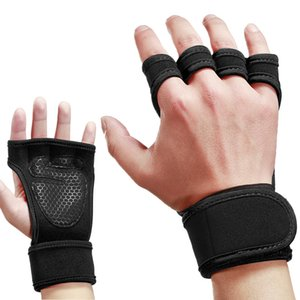 Summer outdoor men and women breathable non-slip gym weightlifting gloves mountain bike half finger cycling deadlift gloves 3 color options
