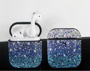 Kristalldiamant-Kasten-glänzendes Glitzernde Bingbing für Airpods pro Fall für Apple Airpods 1/2/3 Schutz-Abdeckung für Airpod Pro