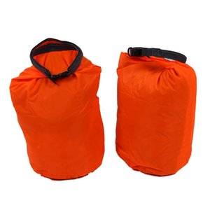 2 x 20L Waterproof Dry Bag for camping, drifting, hiking and other outdoor activities.(Orange)
