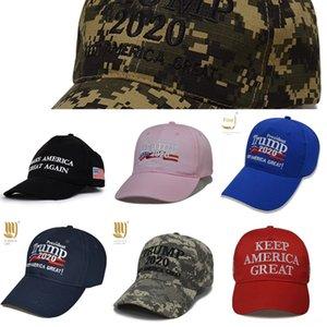 4WbPR wo3y3 Donald New DropshippingPresident chaud Custom Casquette Trump brodé camouflage Chapeaux à Trump2020 Casquettes de base-ball