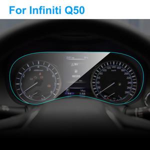 Para la pantalla del panel de Infiniti Q50 2015-2018 interior del instrumento del coche del protector TPU de la película del tablero de instrumentos de membrana película protectora Accesorios para el coche