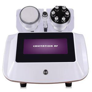La pérdida de grasa 40K RF adelgazar Peso del medidor eléctrico Producto Wave Peeling grasa máquina de la piel de la piel Equipo para el cuidado de arrugas Mejora