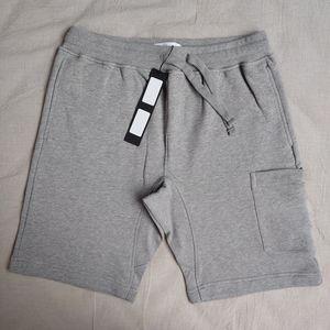 20SS 64651 Bordado Sweatshorts TOPSTONEY Casual Summer Street cintura elástica New Style Esporte Pure Color Shorts HFHLKZ049