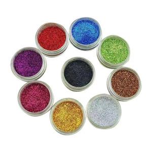 Slime Forniture Glitter Polvere Paillettes per Slime PET scintillante polveri con Arts Crafts Wine Glass decorazione di arte