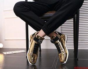 2020 Горячая продажа Корейский модный модельер обуви сек серебро золото черный блестящий яркий стильный г-красный ковер предпочтительным качество обувь 40-45