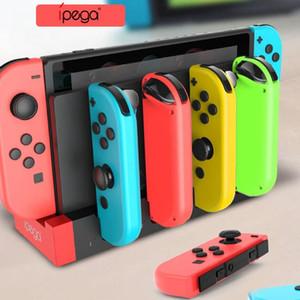 Игровой Контроллер Зарядное Устройство Зарядная Док-Станция Стенд Держатель Станции Для Nintend Switch Joy-Con JoyCon Gamepad Игровая Консоль