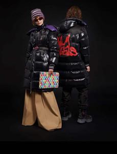 Контрастное зимнее пальто женское цветное пальто Мужское теплое тренд Бомбер пуховик Парка Шуба плащ женская плюс размер Пуховики 79