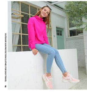 Pocket Womens moda giacche Mans Coppia cappotti estate necessaria Sun Indumenti di protezione solido con zip e