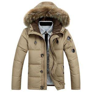 2016 SALE Plus Size shield winter Parkas down jacket Stand collar coat men's US style windproof snowproof Outerwear Coats