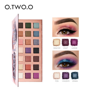 O.TWO.O Darling Eyeshadow Palletes 21 Colors Ultra Fine Powder Pigmented Shadows Glitter Shimmer Makeup Eye Shadow Palette 9994