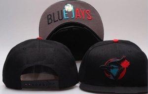 2019 лучшее качество Snapback Blue Jays Hat Cap Регулируемые бейсбольные кепки Snapbacks Strapback Golf Casquette Спортивная кепка мужчины женщины кость 04
