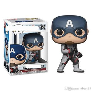 Xmas gift New Brand new AVENGERS ENDGAME - CAPTAIN AMERICA - FUNKO POP - BRAND NEW action figures toy