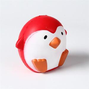 Interesante pingüino descompresión juguetes para niños Squishy PU Slow Rebound Toy Regulación de la emoción Educación temprana Producto Nueva llegada