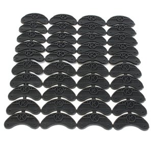40PCS 20-Par de goma del talón del dedo del pie Savers placas Taps bricolaje pads de reparación de calzado Tamaño: 56 * 24 * 3.1mm