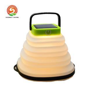 luz pá do ventilador Foldable 2 cores escolher forfolding solar ao ar livre, camping lâmpada tenda proteção para os olhos suave acampar leve (20-Pack)