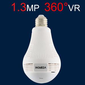 360 grados de luz LED 960 P inalámbrico Seguridad para el hogar Seguridad WiFi WiFi CCTV Fisheye Bombilla Lámpara Cámara IP Dos maneras de audio