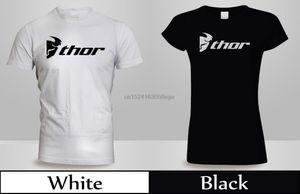 Thor MX Loud Мотокросс Off Road Dirt Bike T-Shirt MensWomens Черный Белый