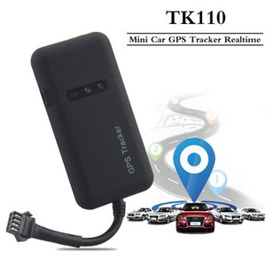 TK110 GPS Tracker With Relay Cut Off Oil Fuel GPS Mini Tracker For Vehicle Overspeed Move Alarm Real-time Tracking Free APP