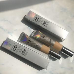 고품질 브랜드 메이크업은 32ml CC 크림 수정 당신의 피부하지만 더 나은 색상의 풀 커버리지 크림 안티 에이징 보습 세럼 SPF 50 +