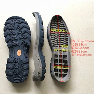 Men's hiking outdoor soles casual shoes hiking shoes sports soles tendon outsole non-slip brown camel sole